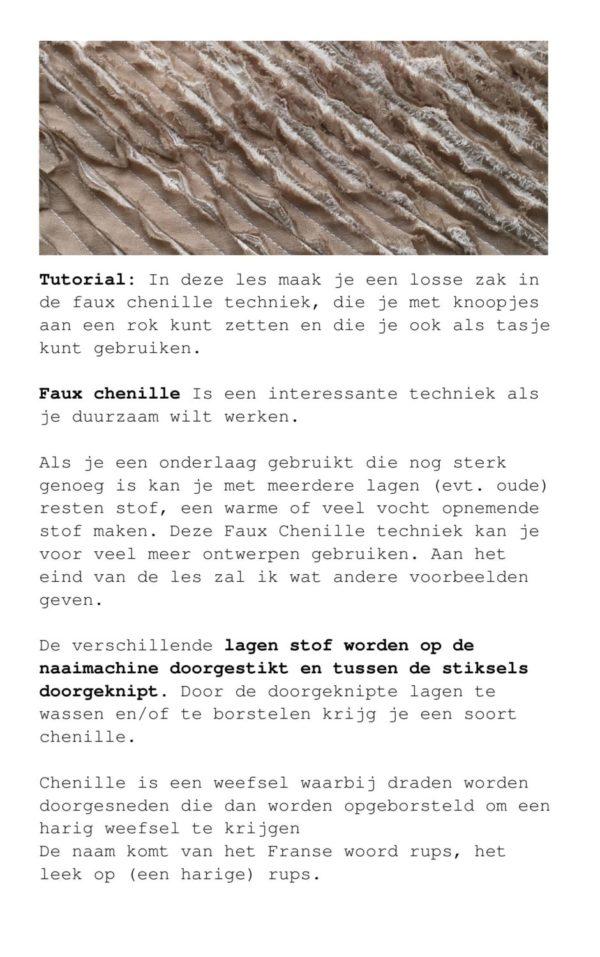 Dit is een online lesmodule stofbewerking van de Eco Textile Academy gemaakt door Marijke Bongers