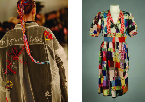 Maison Margiela and liberation dress